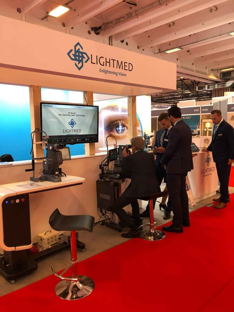 The 37th Congress of the European Society of Cataract and Refractive Surgeons (ESCRS) LIGHTMED